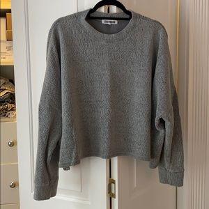 Joah Brown Pullover Sweatshirt
